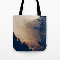 Sunrise in the Mountains  Tote Bag