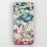 Butterfly motions iPhone & iPod Skin
