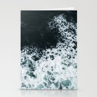 Ocean's glass Stationery Cards