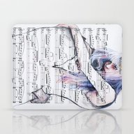 Waiting Place On Music S… Laptop & iPad Skin