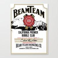 Beam Team Canvas Print