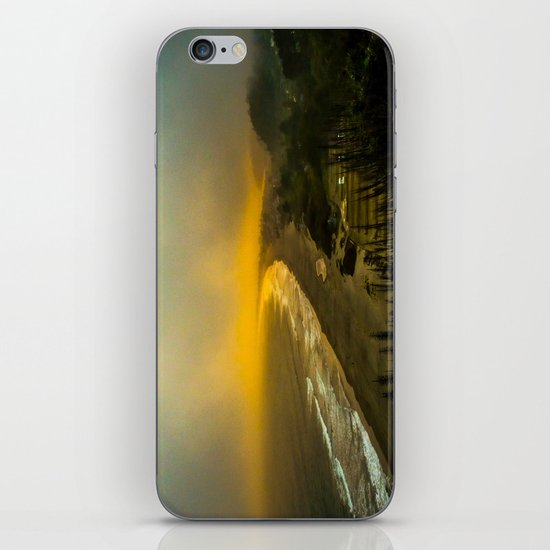 The evening as seen from the bluff  iPhone & iPod Skin