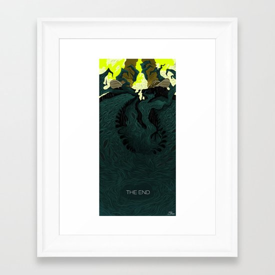 The End (Part 2) Framed Art Print