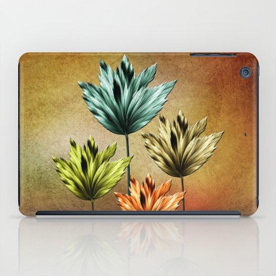Four Fractal Flowers iPad Case