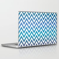 chevron Laptop & iPad Skins featuring Chevron by David Zydd