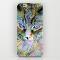 Circus Cat iPhone & iPod Skin