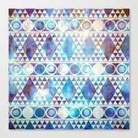Tribal Storm Canvas Print