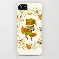 iPhone Cases featuring The Legend of Zelda: Mammal's Mask by Teagan White