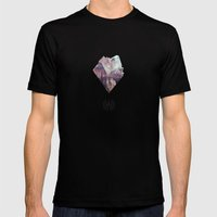 Amethyst Mens Fitted Tee Black SMALL