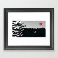 Goddess Of War Framed Art Print
