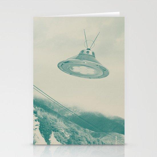 UFO II Stationery Card