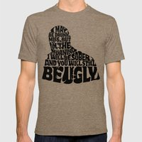 Best Churchill Quote Eve… Mens Fitted Tee Tri-Coffee SMALL