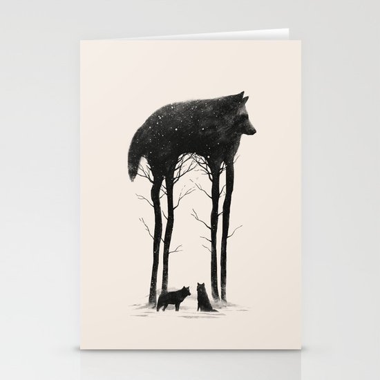Standing Tall Stationery Card