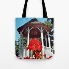 Gazebo flower Tote Bag