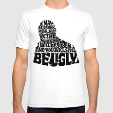 Best Churchill Quote Ever Mens Fitted Tee White SMALL