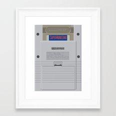 GAMEBOY - BEAUTIFUL BACK Framed Art Print