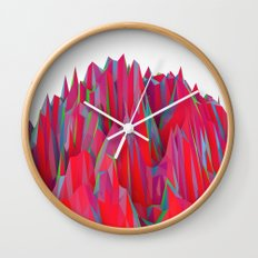 Cristal Mountain  Wall Clock