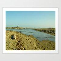 Navaro Beach V Art Print