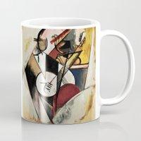 Study after Gleizes' Composition pour Jazz Mug