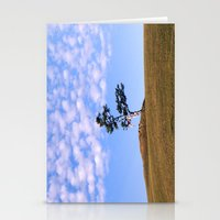 Tree on the island of Olkhon Stationery Cards