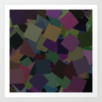 Squares From Arlo Art Print
