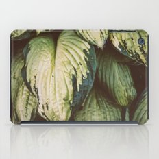 Natural Leaves Pattern iPad Case