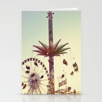 Golden Hour at the Carnival Stationery Cards