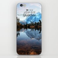 Mt Shuksan-adventure iPhone & iPod Skin