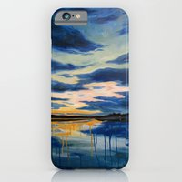 iPhone & iPod Case featuring Campfire  by Leanna Rosengren