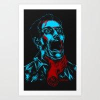 Desde el infierno HSI Art Print