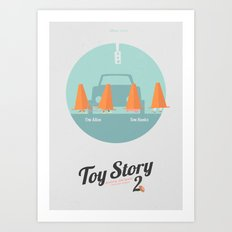 Toy Story 2 - minimal poster Art Print