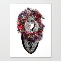 Mrs. Autumn Canvas Print