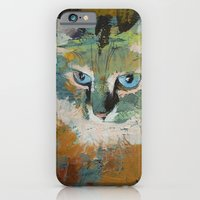 iPhone & iPod Case featuring Himalayan Cat by Michael Creese