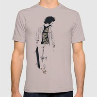 Skater 1 Mens Fitted Tee Cinder SMALL