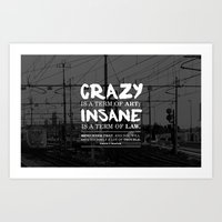 Typographic Quote Design… Art Print