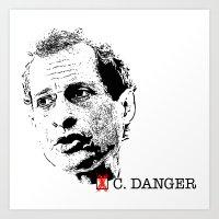 Vote Carlos Danger Art Print