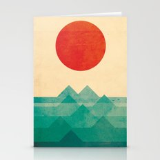 The Ocean, The Sea, The … Stationery Cards