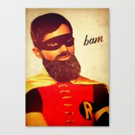 Canvas Print featuring Bam by Rubbishmonkey