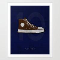 Minimal Ten Art Print