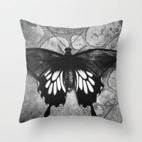 Butterfly#1  Throw Pillow