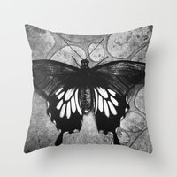 Butterfly#1  Throw Pillow