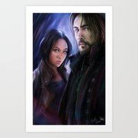 Sleepy Hollow (TV) Art Print