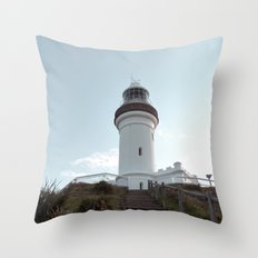 Lighthouse in Byron Bay, Australia Throw Pillow