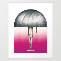 Lampboy Art Print