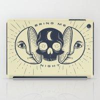 Kill the Sun, Bring Me Night iPad Case