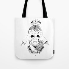 Void in your eyes Tote Bag