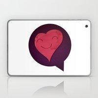 Pushing Love Like Pimps Laptop & iPad Skin
