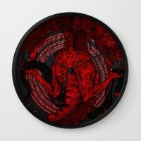 Incipit Serpent Wall Clock