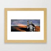 Captain Phasma Framed Art Print