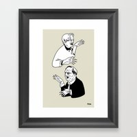 Insanitoosi Framed Art Print